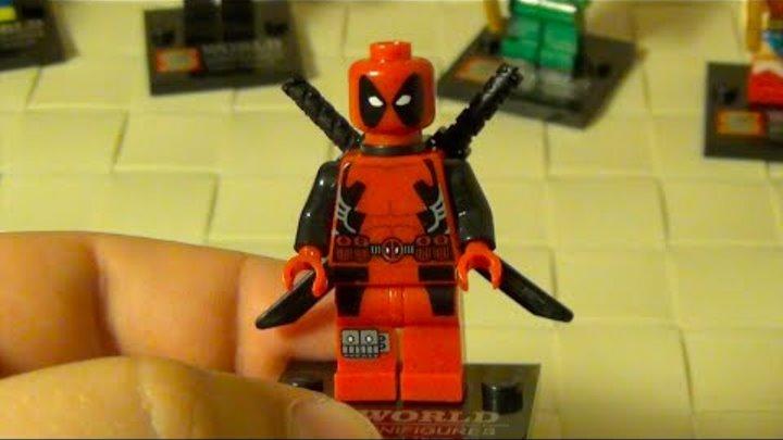 Минифигурки Лего Супергерои - китайская версия