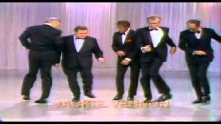 Dean Martin, Buddy Ebsen, Lee J. Cobb, Charles Nelson Reilly & Jackie Vernon