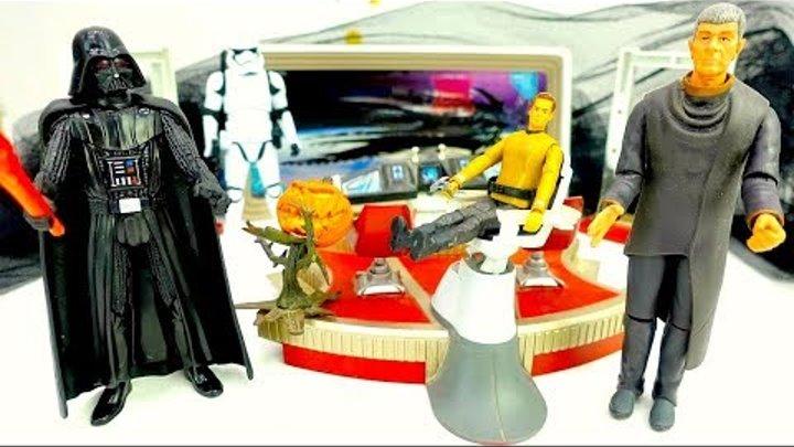 Звездные войны (СТАРТРЕК): спасение планеты от Дарта Вейдера! Мультик Star Wars для детей