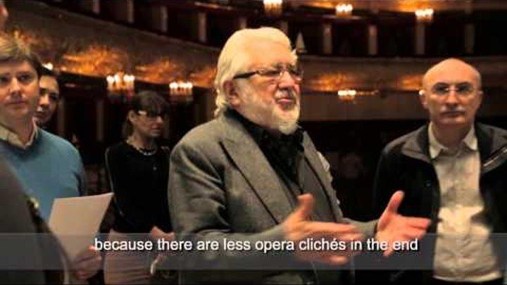 """Опера """"Пиковая дама"""" - предпремьерные репетиции! / """"The Queen of Spades"""" opera - rehearsals!"""