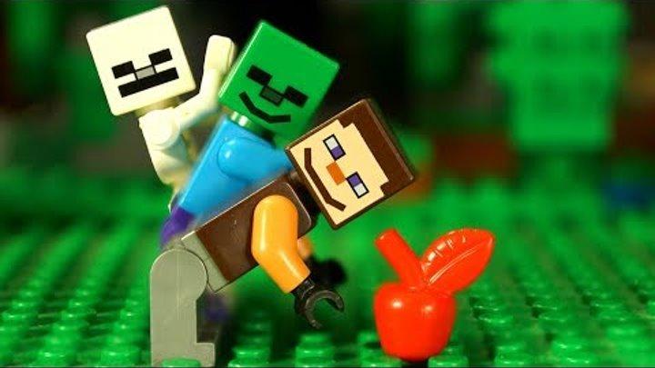 👑 НУБик 👑 ЦАРЬ МАЙНКРАФТА Мультфильмы Лего Лаки Блоки Троллинг Мультики Lego Minecraft Animation