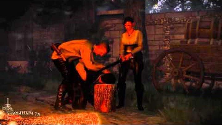 """Ведьмак 3: Дикая Охота. Геймплей и подробности DLC """"Каменные сердца""""."""