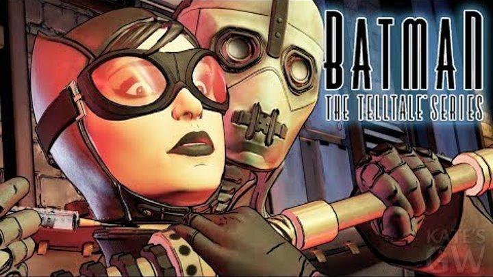 Batman: The Telltale Series ➤Бэтмен теряет контроль. Part #6