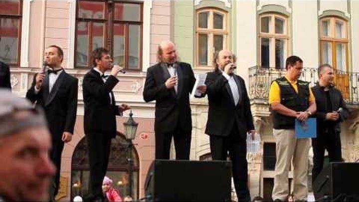 У Львові двадцять хорів заспівали Щедрика