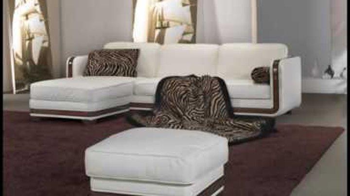 Угловые диваны для зала фото