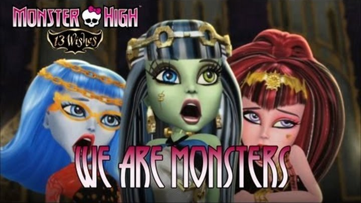 Monster High 13 Wishes - Wii / Wii U / NDS / N3DS - We are Monsters! (Trailer)
