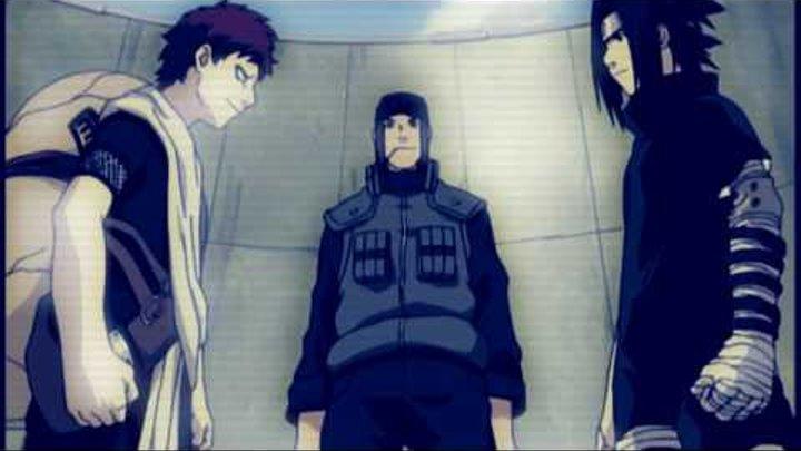 Sasuke VS Gaara [HD]