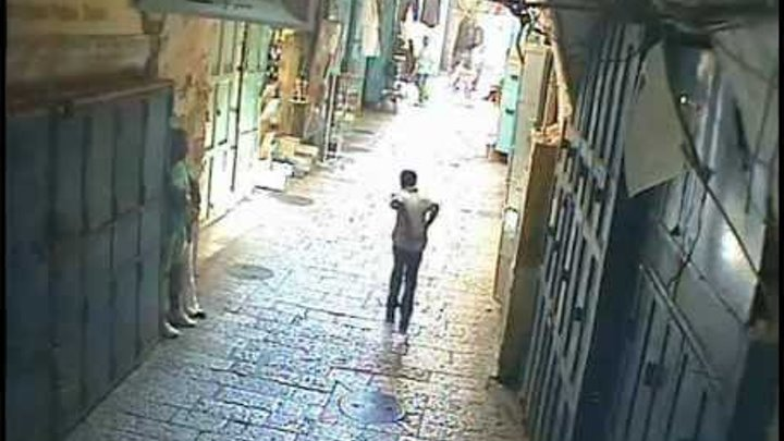 Shootout in Jerusalem old city in 2007 Перестрелка в Иерусалиме