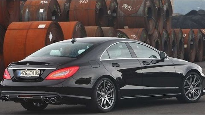 #1173. Carlsson CK63 RS Mercedes Benz CLS 2012 (Концепт и тюнинг)