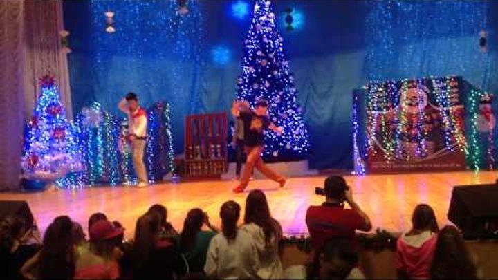 Тернополь 21 декабря, молдавский танцор