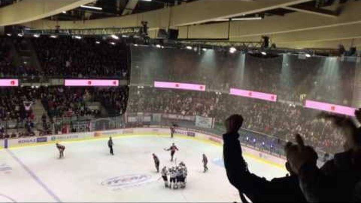 Динамо Рига - Металлург Магнитогорск в Таллинне 02.12.16.   Зарипов сравнивает счёт 3:3