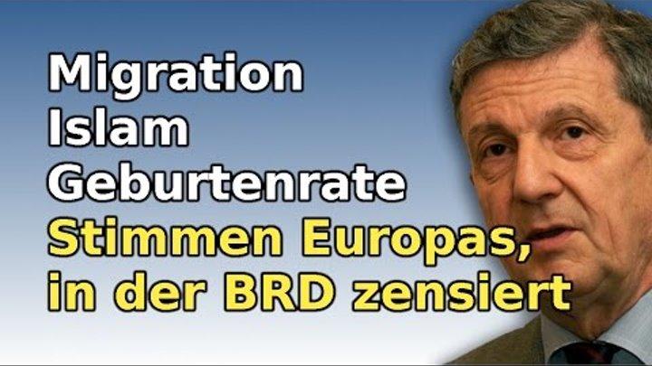 Ungarischer Professor zur Islamisierung Europas und was dagegen getan werden muss (#63)