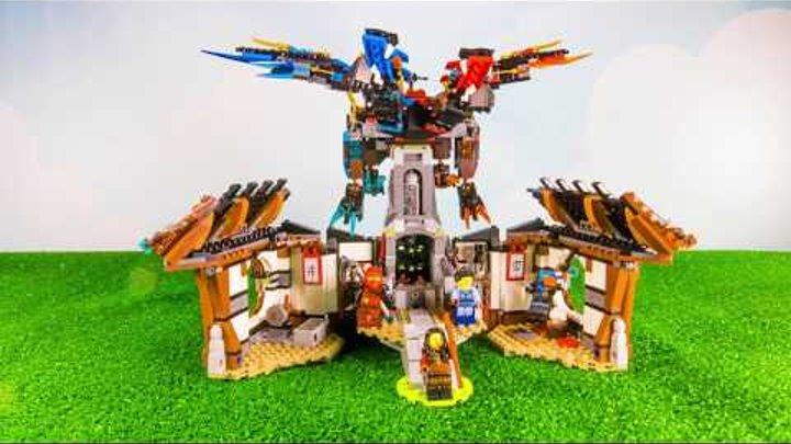 LEGO Ninjago Дракон стихий и Кузница. Новинка 2017 года Лего Ниндзяго 70627 Власть Времени