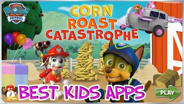 Щенячий Патруль Кукурузная катастрофа обучающая игра мультик для детей на русском язык.