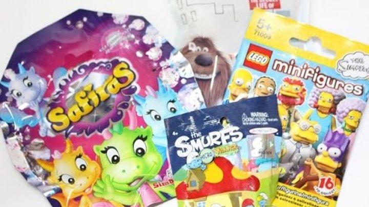 СвП №16: Тайная жизнь домашних животных, Симпсоны(Lego), Смурфики, Сафирас.