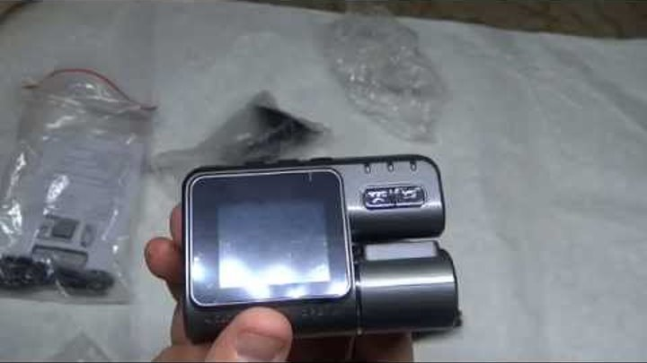 Видеорегистратор DVR карро i1000 из Китая. Видео №60