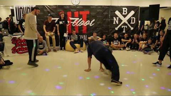 Hit The Floor vol.2 house-dance pro 1/2 Gladi(win) vs Tonik vs Lilya