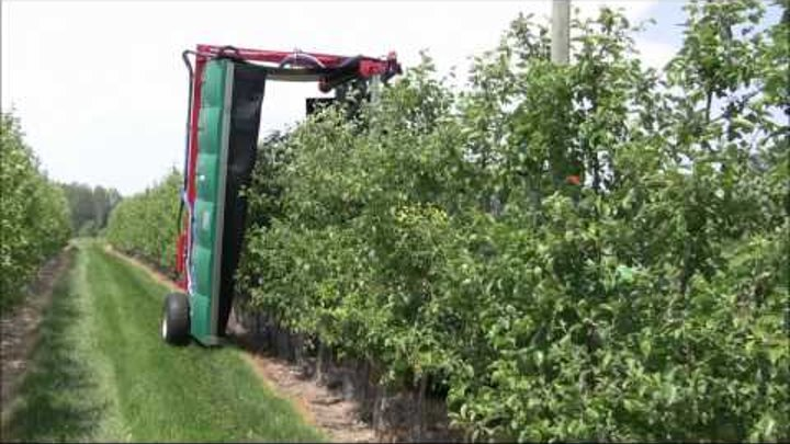 UMass Fruit Advisor: MassCon Tunnel Sprayer -- June 1, 2011