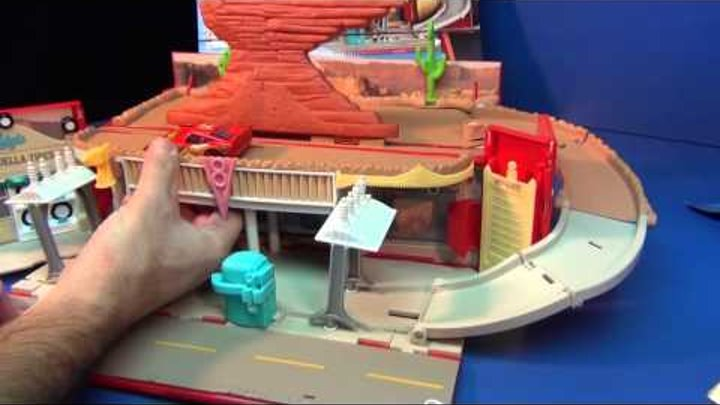 Cars 2 Radiator Springs Play Town Product Demonstration