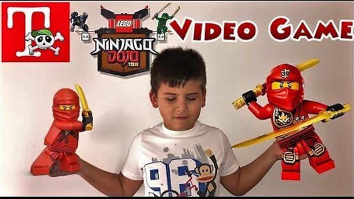 LEGO Ninjago Movie Videogame: Part 1. Παιχνίδια στο Famous Games ///Famous Toli