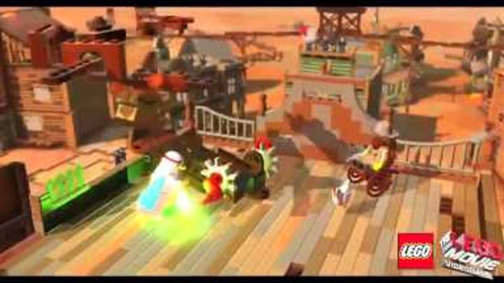 Trailer The LEGO® Movie - Videogame [RU] | Трейлер на русском | Vemont Game