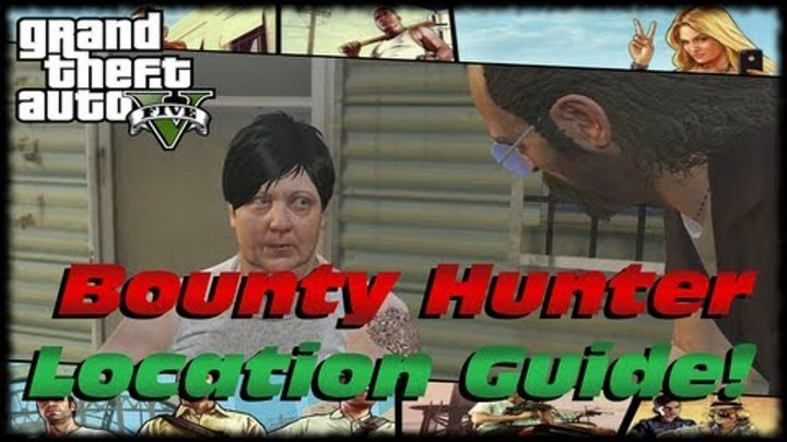 GTA 5 Maude's Bounty Hunter Location Guide! Wanted Alive or Alive Achievement! Strangers & Freaks!