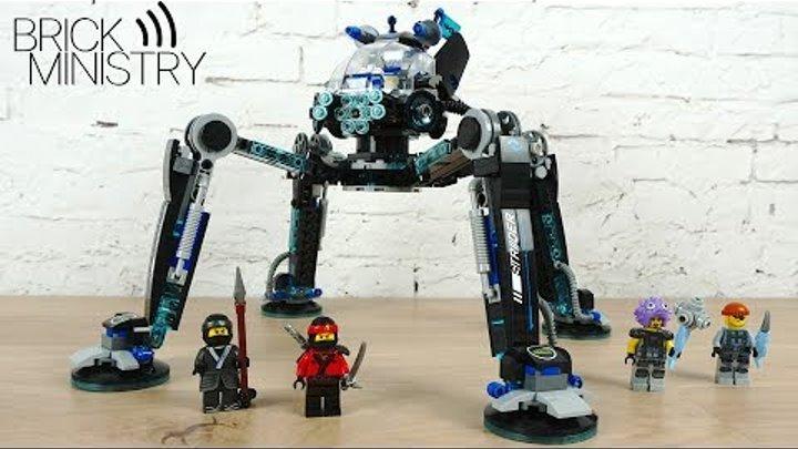 Обзор LEGO 70611 The LEGO Ninjago Movie ● ВОДЯНОЙ РОБОТ