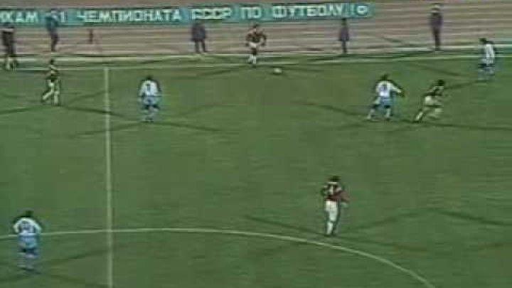 1988 Динамо Мн - Спартак 0:2 (Чемпионат СССР)