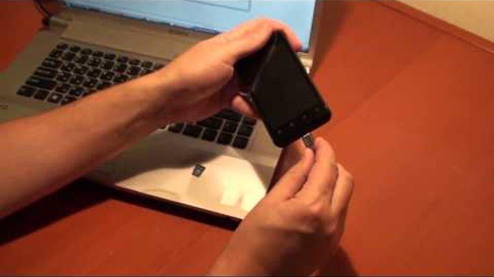 Прошивка Android телефона на примере ZTE