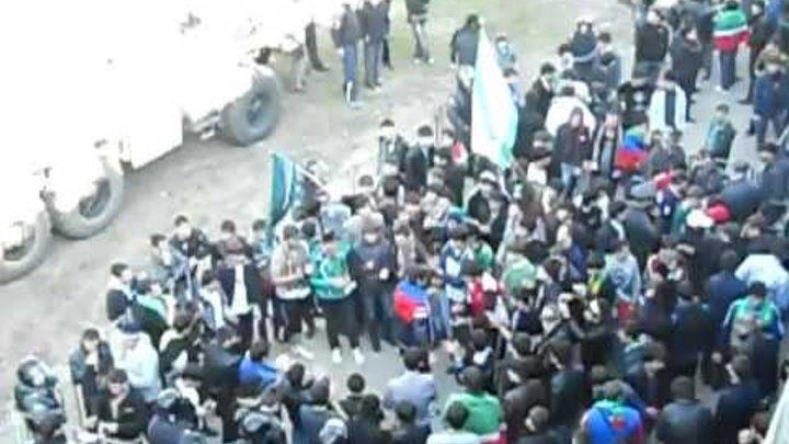 На матче Ростов-Терек 2011