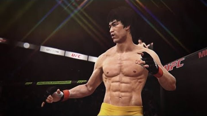 EA SPORTS UFC - Bruce Lee Gameplay Xbox One PS4 Reveal HD