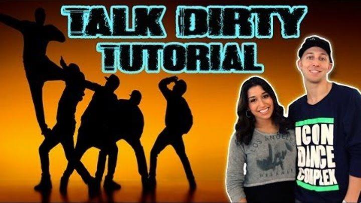 TALK DIRTY - Jason Derulo Dance TUTORIAL | @MattSteffanina Choreography (Hip Hop Routine)