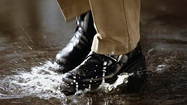 Обувь промокает ! Пропитка для обуви водоотталкивающая