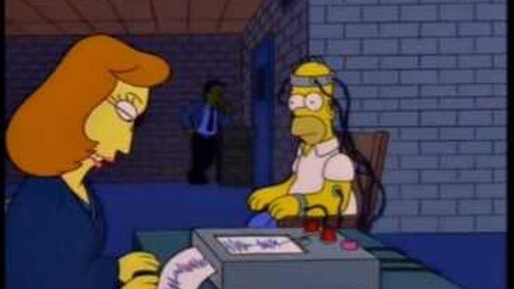 Проверка Гомера на детекторе лжи