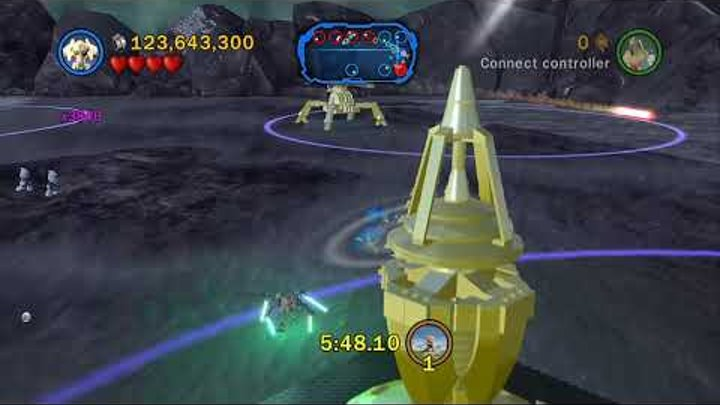 LEGO Star Wars III: The Clone Wars - Separatist Assault Missions 1-8 (Gold Bricks)