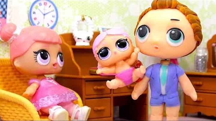 Куклы ЛОЛ СМЕШНЫЕ ВИДЕО 10 Мультики #Игрушки Сюрпризы LOL Видео для Детей с Лалалупси Вероника