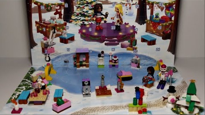 Lego Friends - Advent Calendar 2015, 41102/Лего Френдс - Рождественский календарь 2015, 41102.