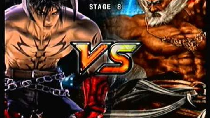 Tekken 5 Story Mode: Devil Jin [Part 2 of 2]