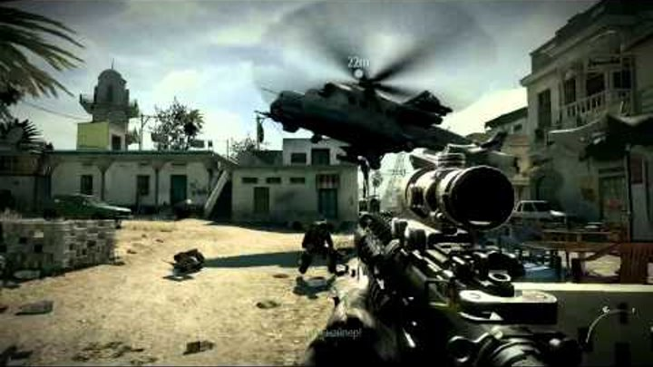 Прохождение Call of Duty: Modern Warfare 3. Миссия 8