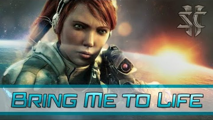 StarCraft 2 - Kerrigan - Bring Me to Life |HD| «RUS SUB»