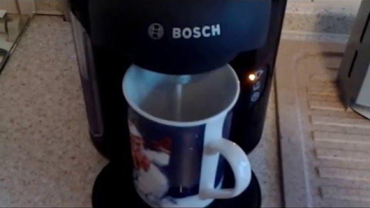 Bosch Tassimo TAS152 Vivy Test - Kaffeezubereitung Latte Macchiato