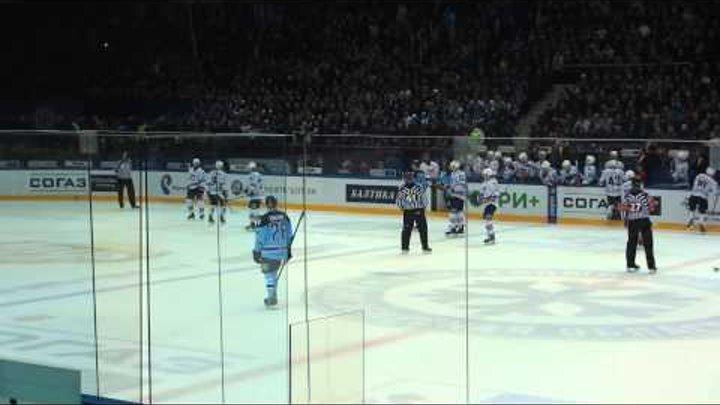 КХЛ 2014-2015/ Плей-офф / Восток / 1/2 финала / Матч 5 / Сибирь - Металлург Мг - 3 - 1.