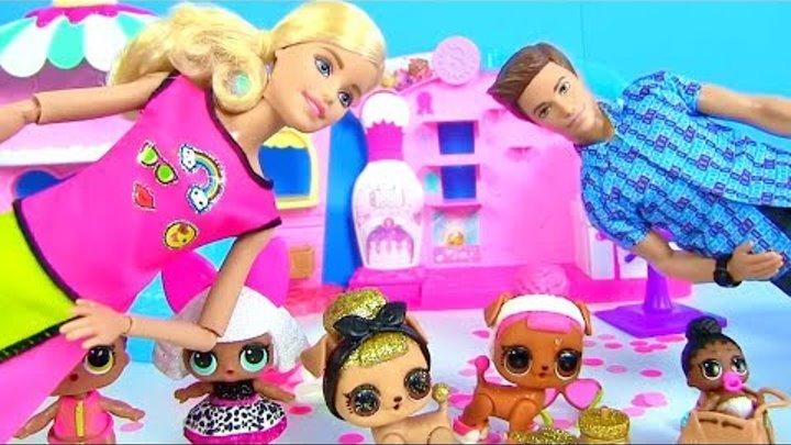 Челлендж Сборник Куклы Лол Сюрприз и Барби! Мультик Lol Surprise Doll Видео для детей