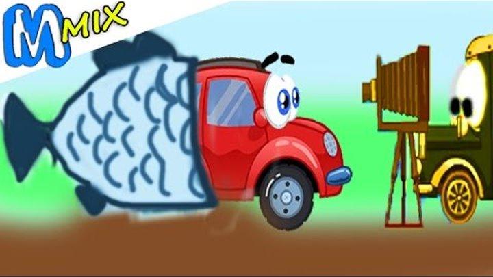 Машинка ВИЛЛИ [4] - 2. Мультик игра для детей. Whelly 4.