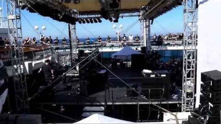 70000 Tons of Metal 2014 - Walk over the Pooldeck - Spaziergang über das Pooldeck bei Bonfire