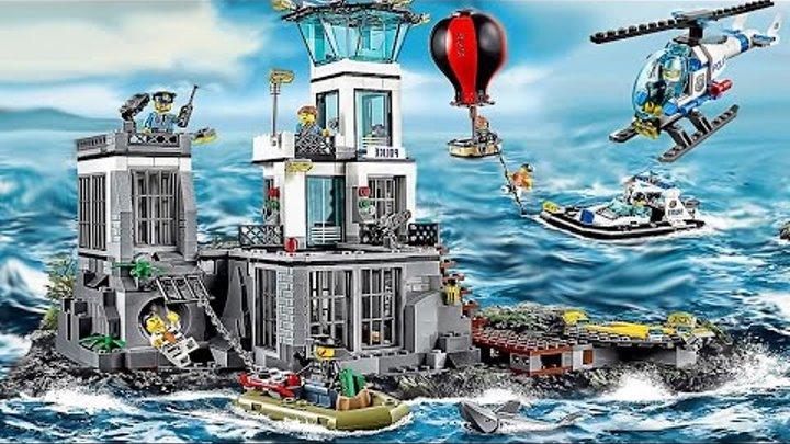 LEGO полиции-Полицейская машина-Пожарная машина-Мультфильм о LEGO LEGO Game My City 2