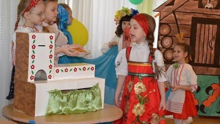 "Драматизация сказки ""Гуси - лебеди"", группа № 12, детский сад № 295"