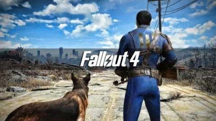 Fallout 4; PS4; Начало игры.