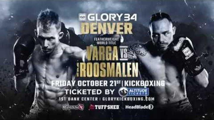 GLORY 34 Denver: Tickets on Sale!