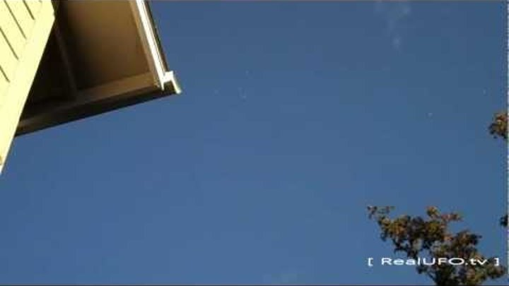 UFO Sighting 2012 Over Dallas, OR Multiple Alien Orbs Caught On Tape Today More Videos This Week
